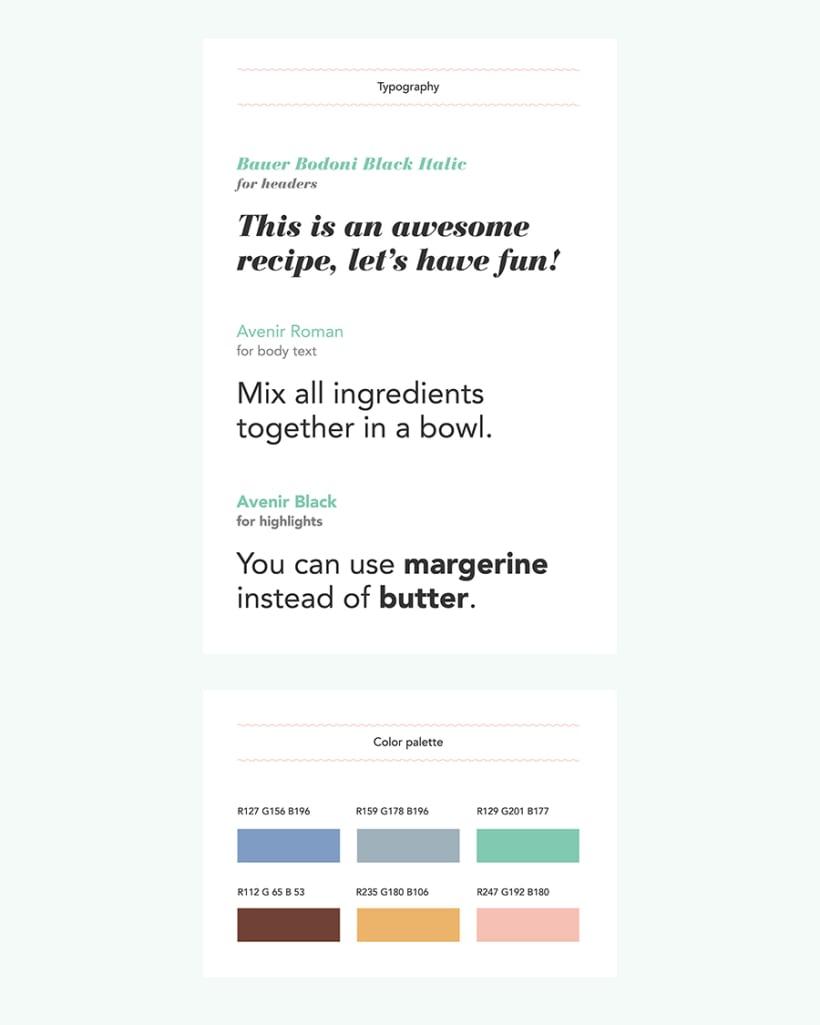 App Postres veganos   Domestika