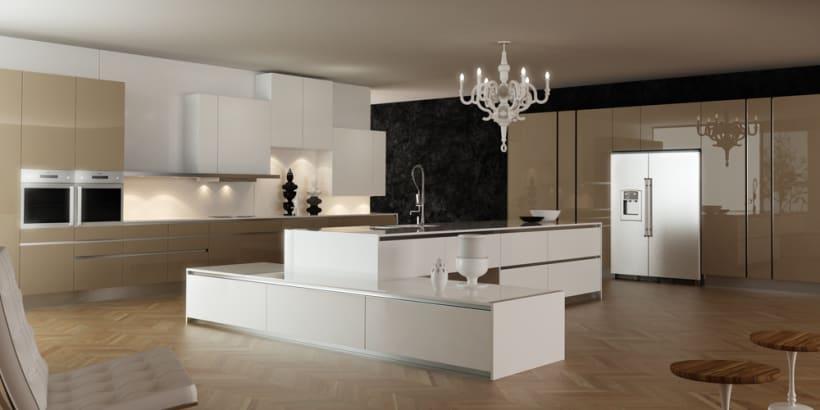 cocina 3D   Domestika