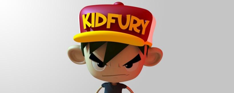 Kid Fury  3D Models for Unity 3d !   Domestika