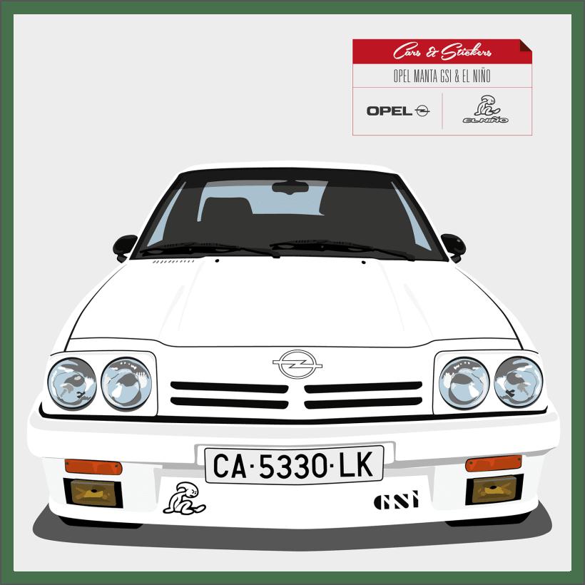 Cars & Stickers | Domestika