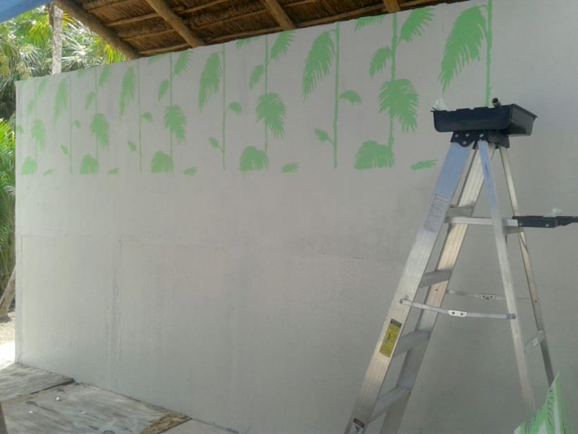 Safari Tulum / Pintura Mural | Domestika