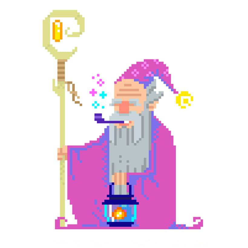 PIXEL ART: Fantasy characters   Domestika