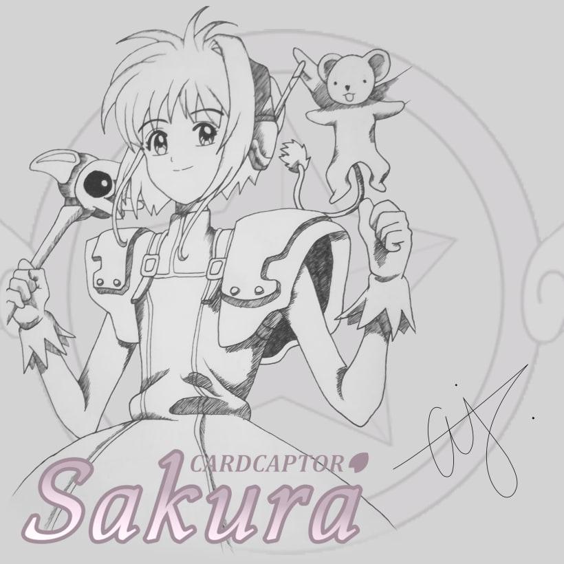Sakura Card Captor Domestika