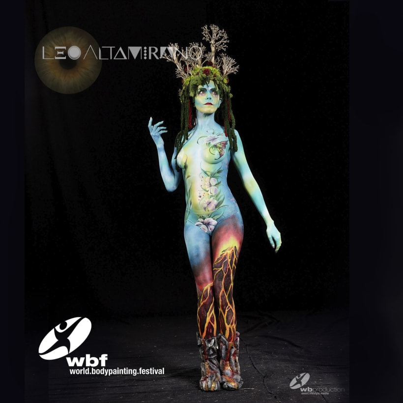World Body Painting Festival Klagenfurt Austria Domestika