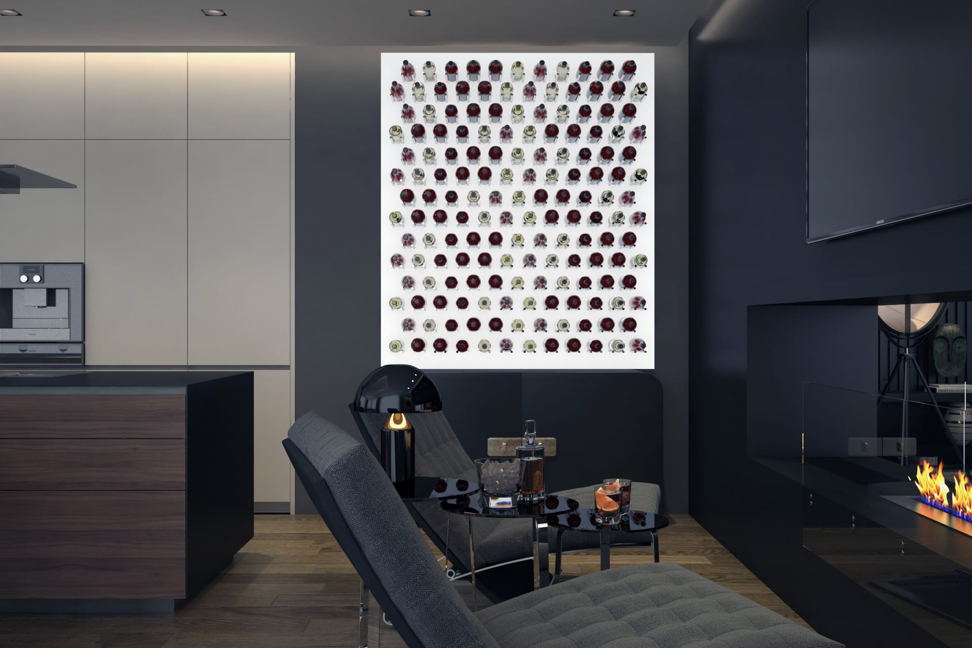 Diseño de salon/comedor | Espacios | Domestika