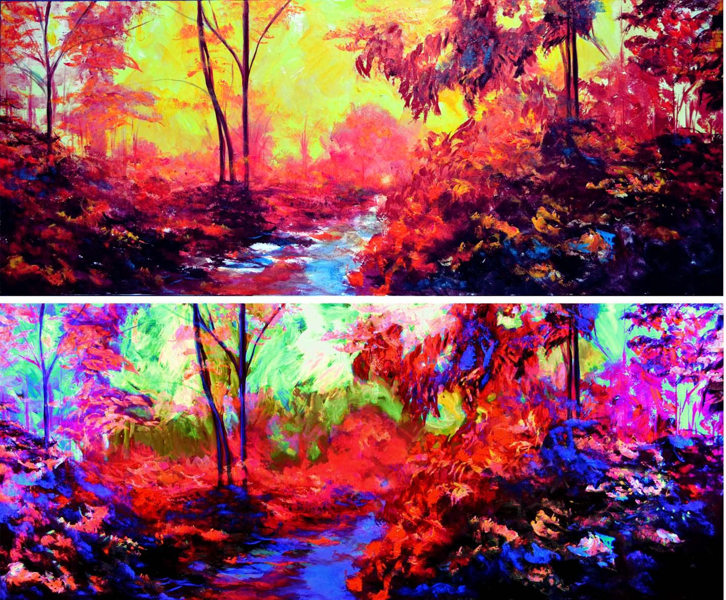 ¿Cuadros al óleo o pintura acrílica? | Bellas artes ...