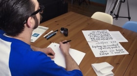 Calligraphy and Rock'n'Roll