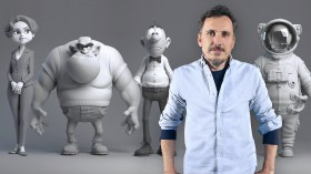 Professional Modelling of 3D Cartoon Characters