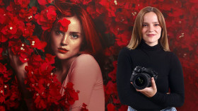 Artistic Self-Portrait Photography