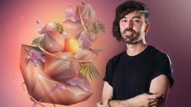 Illustration with Digital Airbrushing