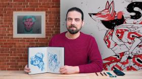 Artist's Sketchbook for Illustration Projects