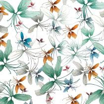 Estampado de flores. Un proyecto de Diseño de Virgo Indómita - 15.01.2018