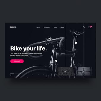 UI Design Collection 5. Un projet de UI / UX, Design d'interaction , et Web Design de Christian Vizcarra - 28.02.2019