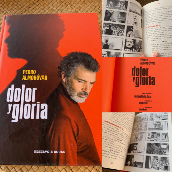 """""""Dolor y Gloria"""" Libro - Guión, Fotos y Storyboards. Un proyecto de Cine, Dibujo, Stor, telling, Stor, board y Guion de Pablo Buratti - 05.12.2019"""
