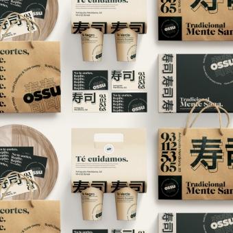 Ossu - Concept Delivery. Un proyecto de UI / UX, Br, ing e Identidad y Diseño de apps de Alex Ferran Perez Vallès - 26.05.2020