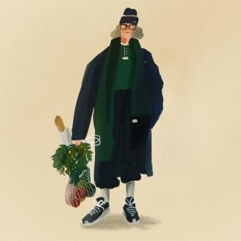 Gente. A Illustration, Design von Garderoben und Digitale Illustration project by Natalia Rojas - 19.06.2020