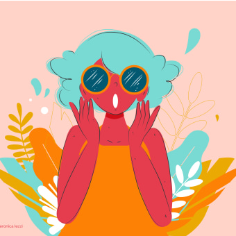 Desigual Magic - Illustrations - Loyalty App Program. Un proyecto de Diseño de personajes, Ilustración vectorial, Diseño de iconos, Ilustración digital y Diseño de apps de Veronica Isabel Iezzi Rincon - 16.07.2020