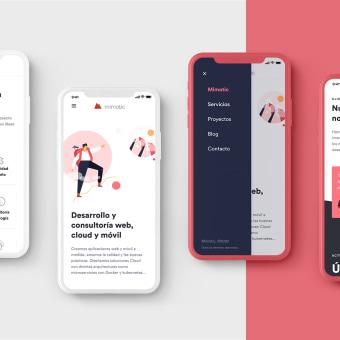 Rediseño web Mimotic . Um projeto de Ilustração, UI / UX e Arquitetura da informação de Óscar Santos Pérez - 01.09.2020