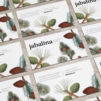 Jabalina Country Tents. Un proyecto de Dirección de arte, Br, ing e Identidad, Diseño gráfico, Packaging, Naming, Creatividad, Diseño de carteles, Diseño de logotipos, Decoración de interiores, Diseño tipográfico y Diseño para Redes Sociales de Salvartes Design - 02.09.2020