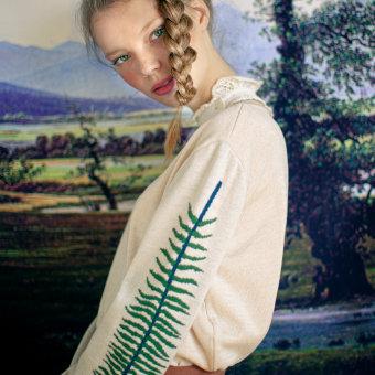 Otoño-Invierno 2020 MUSGO. Un proyecto de Diseño de vestuario, Artesanía, Creatividad, Diseño de moda y Bordado de la casita de wendy - 18.10.2020