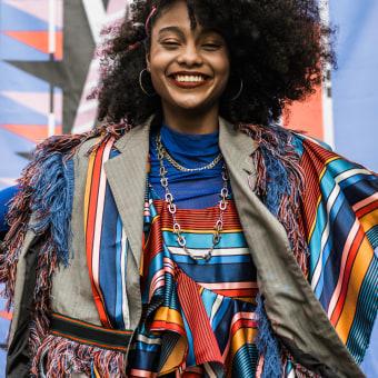 SANKOFA - la colección . A Art Direction, Fashion Design, Fashion photograph, Upc, and cling project by Ximena Corcuera - 12.04.2020