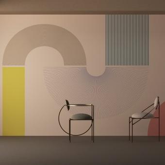 Contour Wallpaper Collection. Un proyecto de Diseño, Arquitectura interior, Diseño de interiores, Diseño de producto, Escenografía, Pattern Design, Estampación, Decoración de interiores, Interiorismo, Diseño digital, Diseño de espacios comerciales y Teoría del color de STUDIOLAV - 08.12.2020