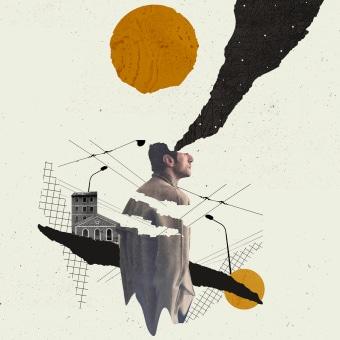 Collages  ligeros 2021. Un progetto di Progettazione editoriale, Graphic Design, Collage , e Design di poster  di ivan Rodriguez Garcia - 18.02.2021