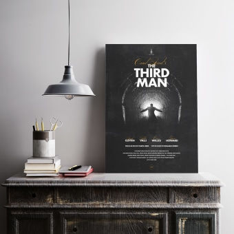 The third man. A Graphic Design, Film, and Poster Design project by Artídoto Estudio - 03.29.2021