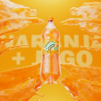Crush Orange - Spot 2020. Un projet de Motion Graphics, Animation 2D , et Conception 3D de Roberto González - 15.04.2021