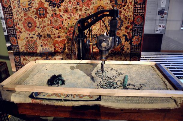 old machine embroidery machine