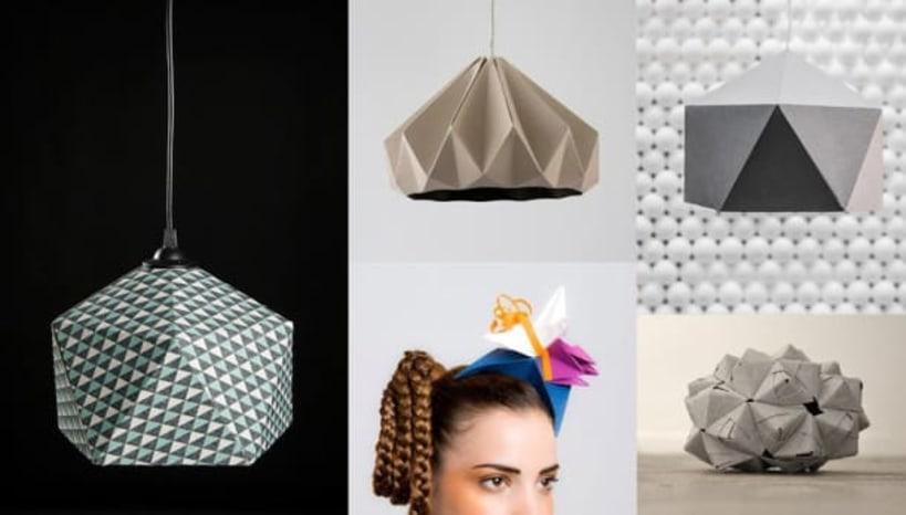 The beauty of paper art — 3D Origami - Sivabalan T - Medium   466x819