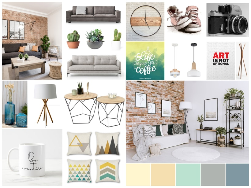 What Is A Mood Board And How To Make One For Interior Design Domestika