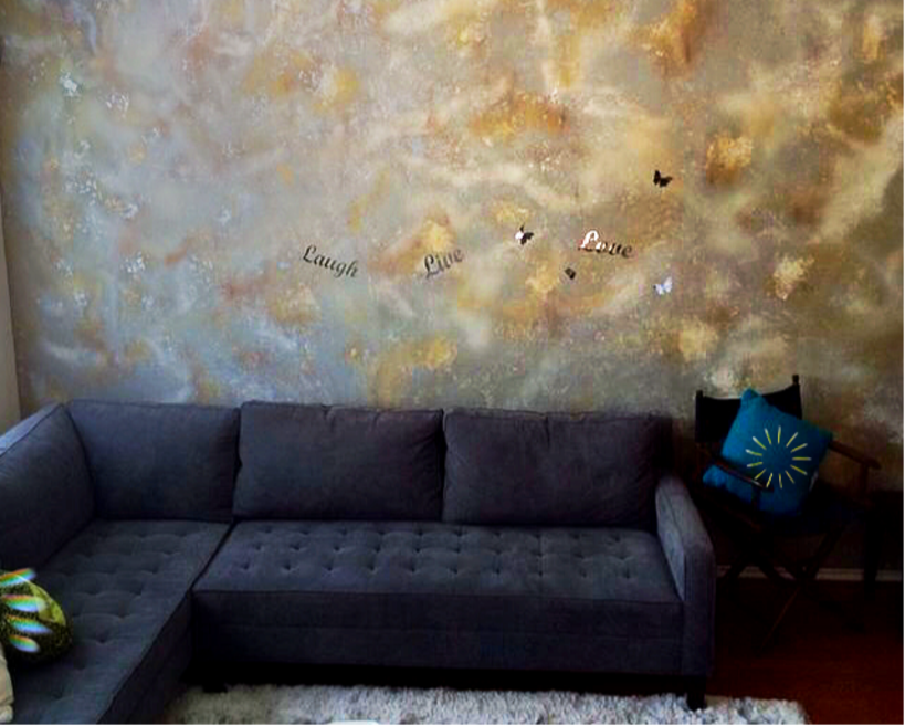 Wall Painting At Houston Tx Apartment, Furniture Painting Houston