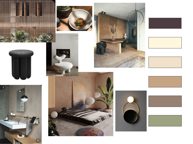 My Final Project Assignment In The Course Color Applied To Interior Design Domestika