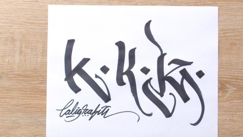 ¿Qué es la caligrafía y qué es el lettering? 4