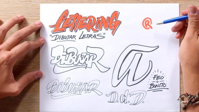 ¿Qué es la caligrafía y qué es el lettering? 6