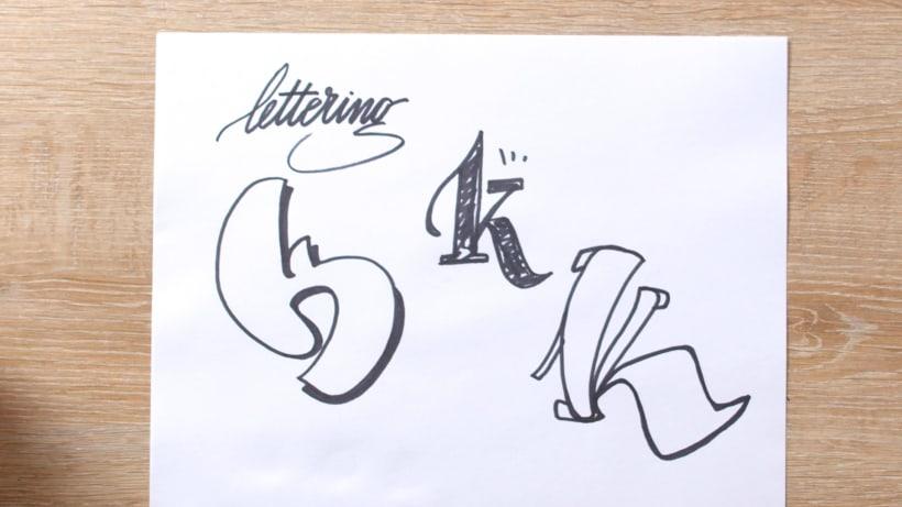 ¿Qué es la caligrafía y qué es el lettering? 7