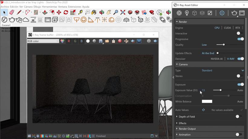 Tutorial V-Ray: introducción a las herramientas de iluminación   Domestika