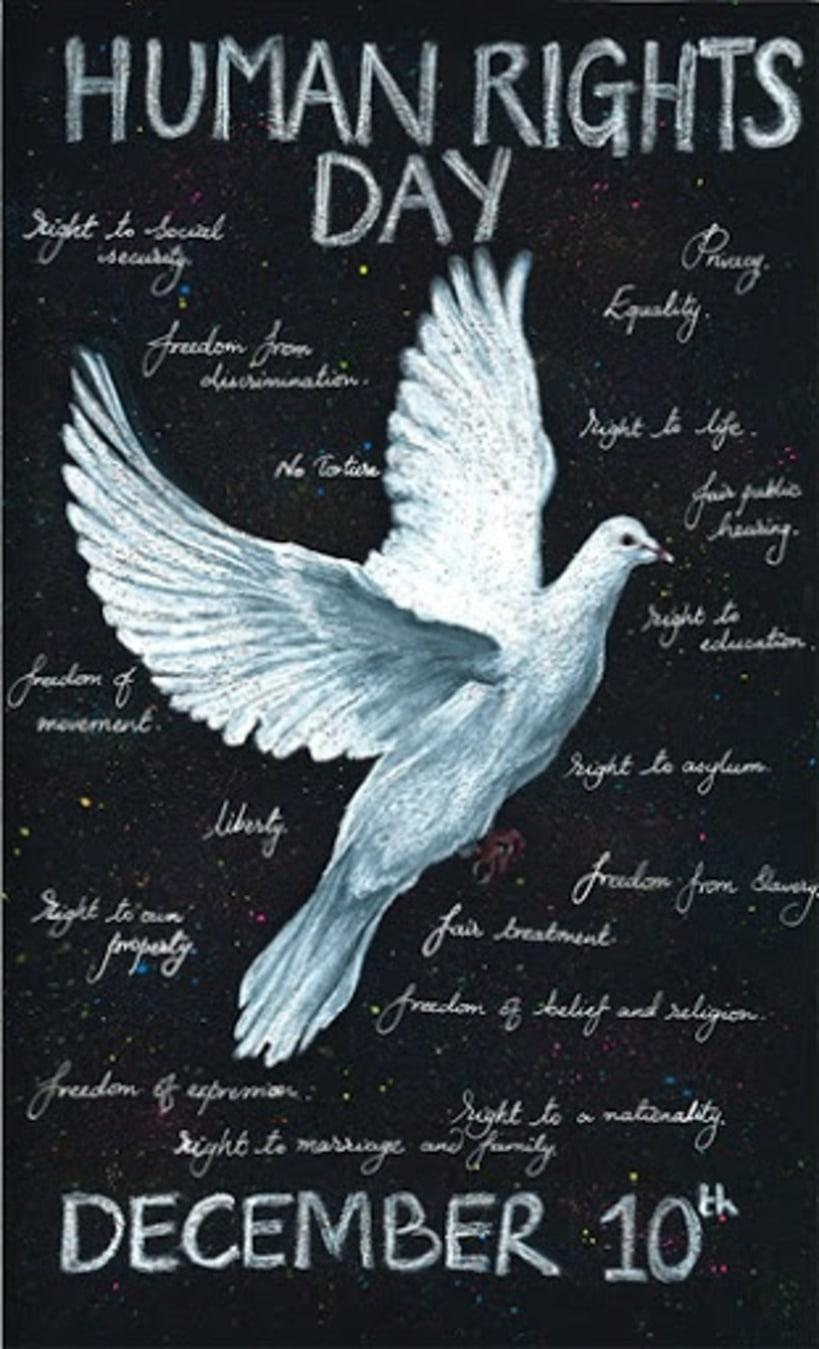 Carteles emblemáticos para celebrar el Día Internacional de los Derechos Humanos 18