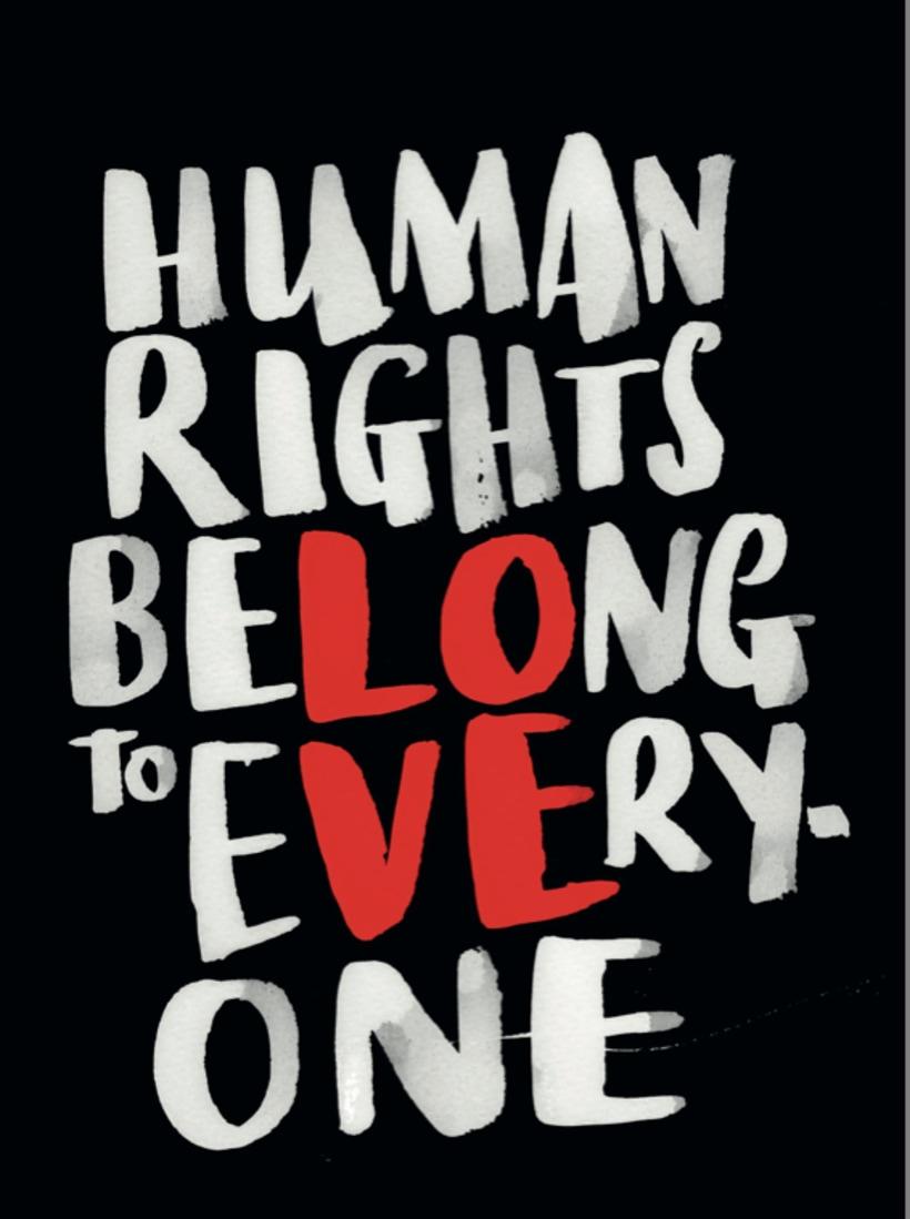 Carteles emblemáticos para celebrar el Día Internacional de los Derechos Humanos 25