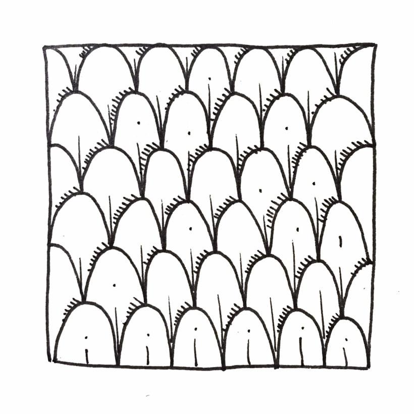 Inktober Pattern