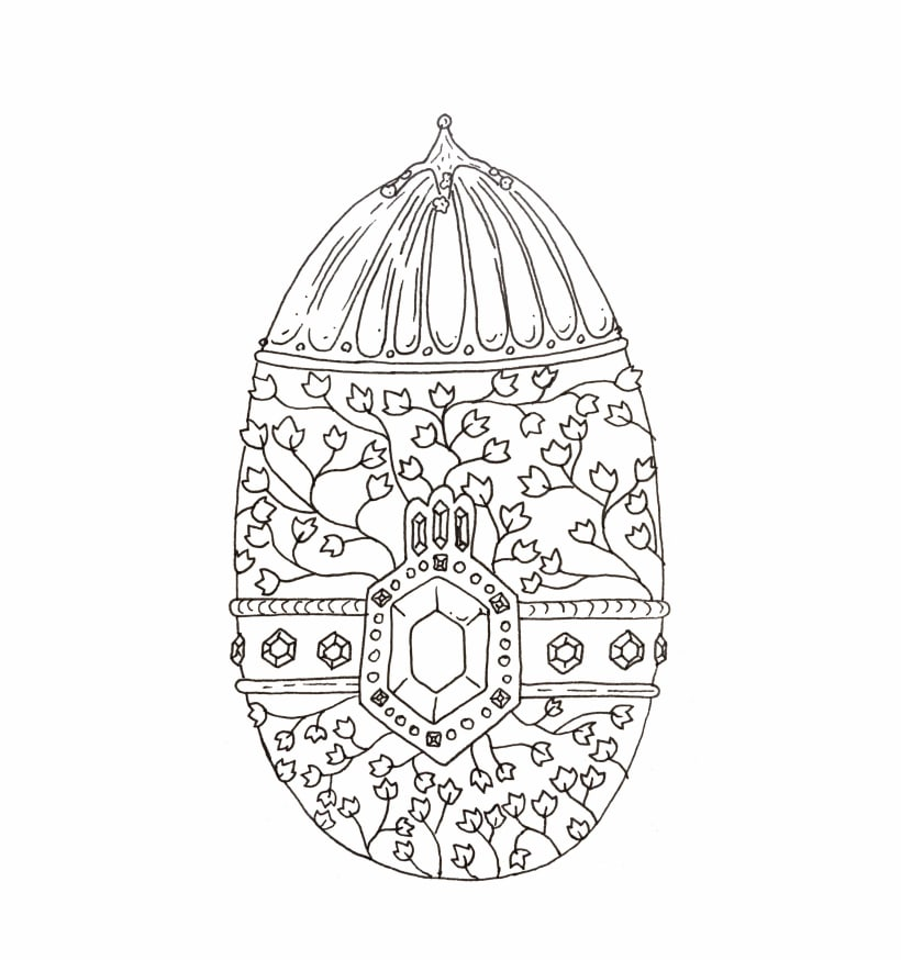 Inktober Ornament
