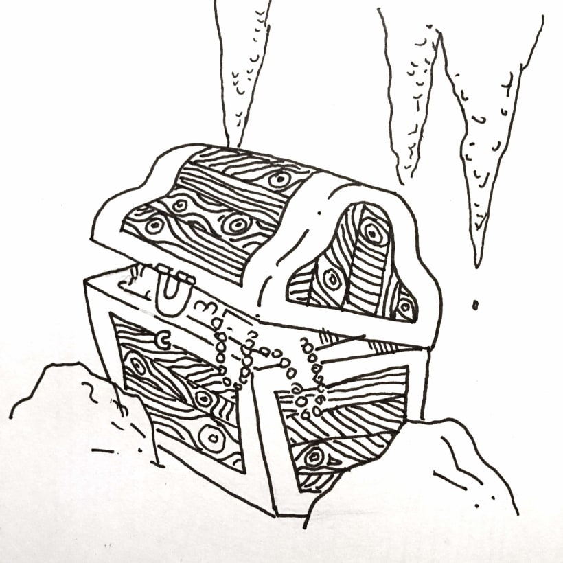 Inktober Treasure