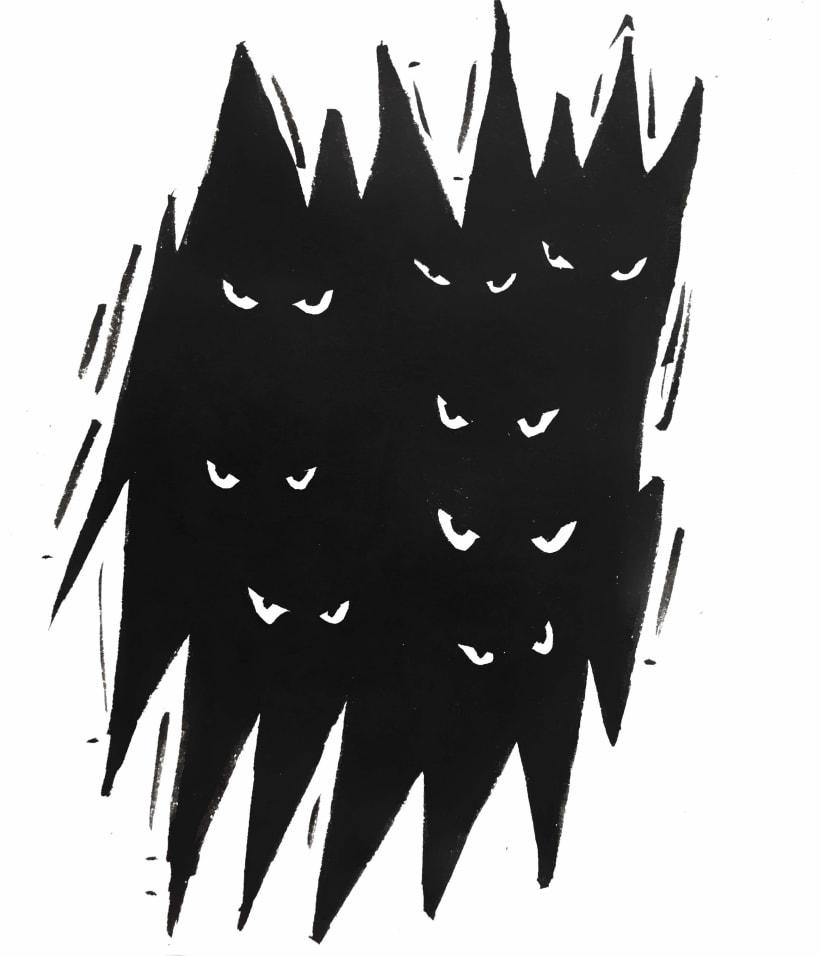 Inktober Dark