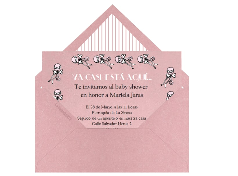 Invitaciones De Baby Shower Domestika