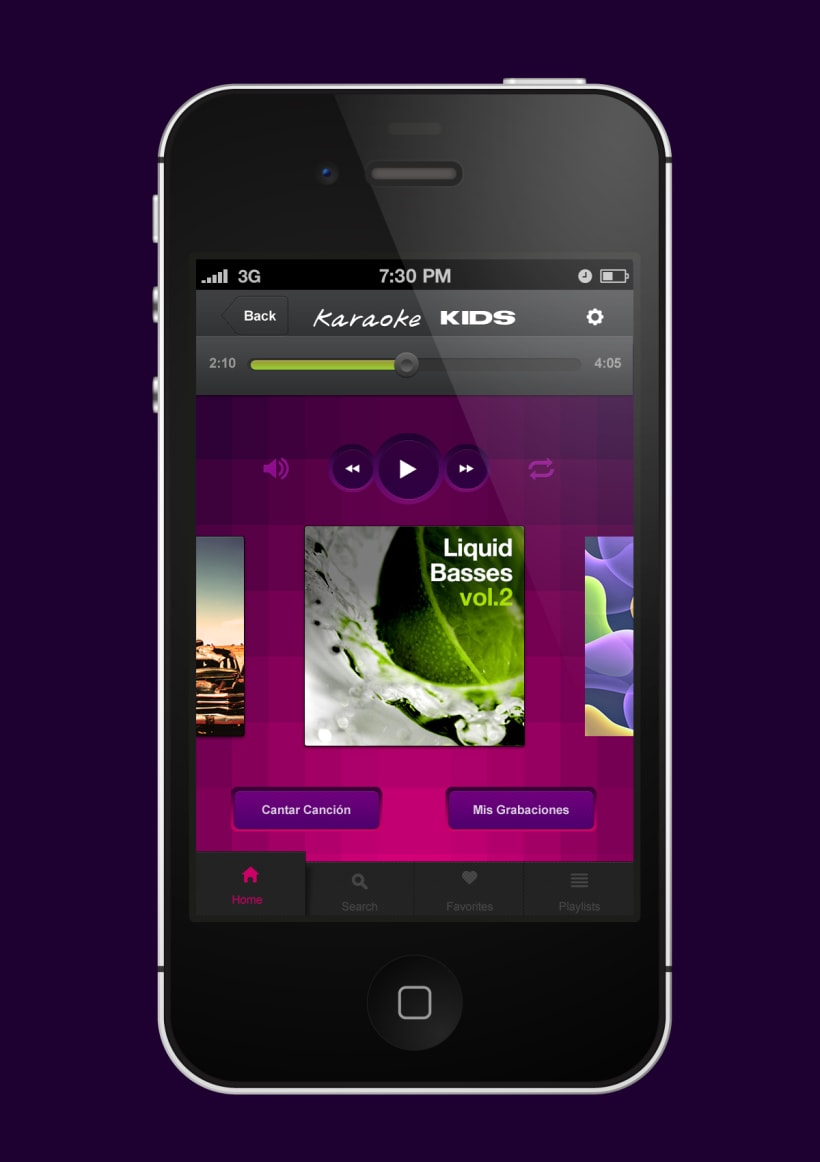 karaoke app movil | Domestika