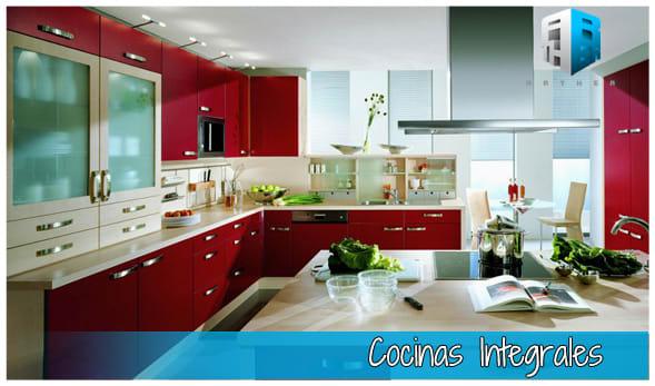 Diseños en 3D de cocinas integrales | Domestika