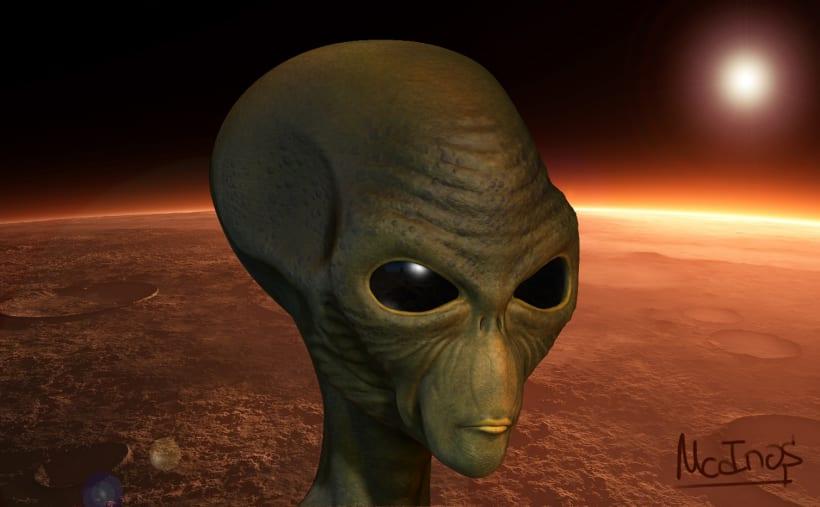 Alien W I P (Maya & ZBrush) | Domestika