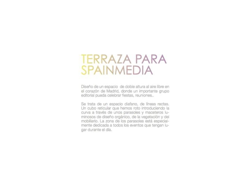 Infografía Terraza Para Eventos Domestika