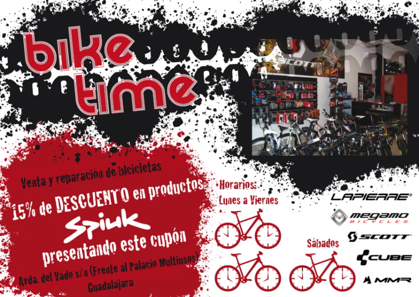 Bike Time | Domestika